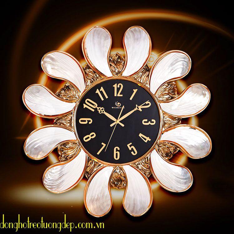 Đồng hồ treo tường cao cấp phong cách hoàng gia PY117A