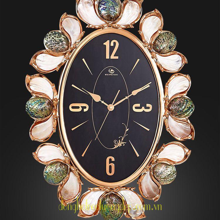 Đồng hồ treo tường cao cấp trang trí thời thượng PY116A