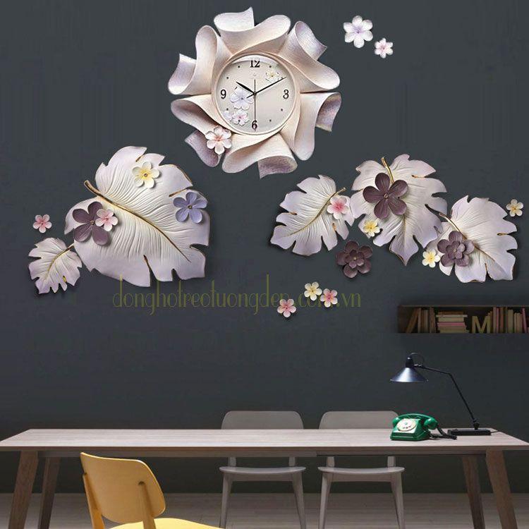 Đồng hồ treo tường đẹp tphm  ZB0022A_DIY003B