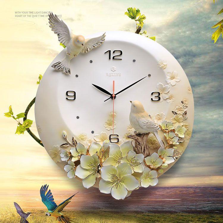 Đồng hồ treo tường trang trí ZB006A
