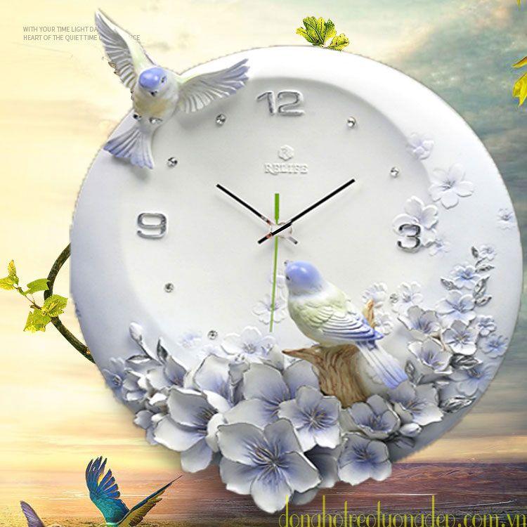 Đồng hồ treo tường đẹp phong cách hiện đại ZB006B