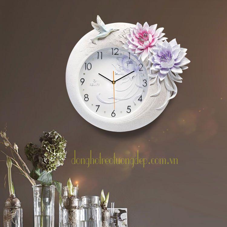 Đồng hồ trang trí tỏa sáng tinh hoa ZB008B