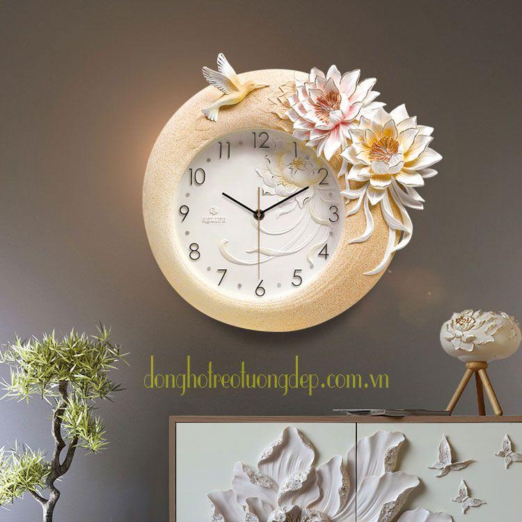 Đồng hồ trang trí cho tường xinh nhà xinh ZB008A