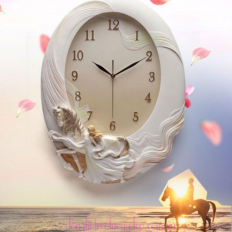 Đồng hồ treo tường nghệ thuật đẹp chất lượng ZB0021A