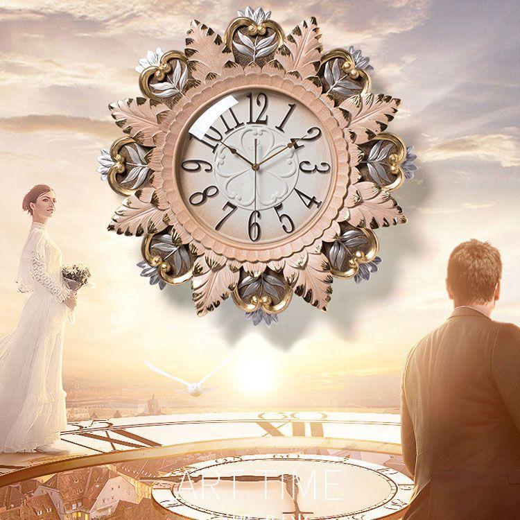 Đồng hồ trang trí tinh hoa hội tụ ZB0024A