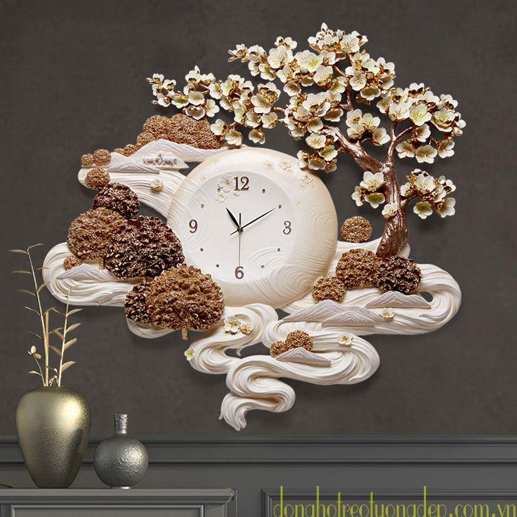 Đồng hồ treo tường nghệ thuật tphcm