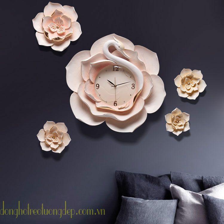 Đồng hồ nghệ thuật tôn lên vẻ đẹp nội thất ZB0037B