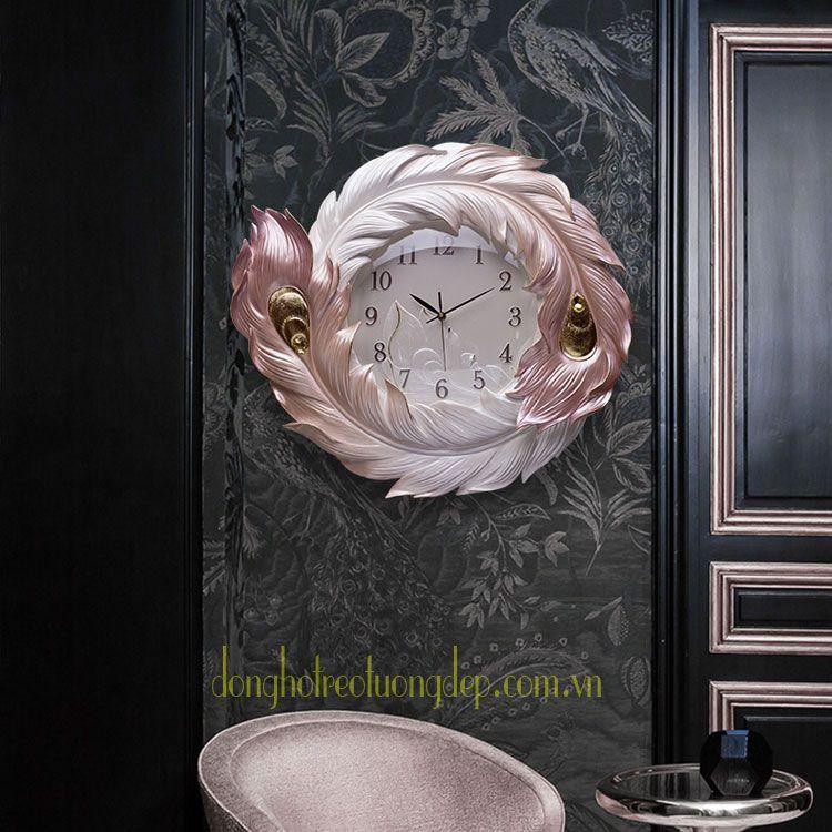 Đồng hồ trang trí tâm điểm cho bức tường xinh ZB0047C