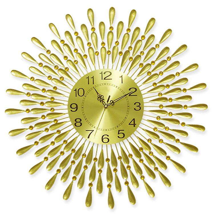 Đồng hồ nghệ thuật treo tường tỏa sáng thời thượng DHD001