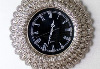 Đồng hồ treo tường Dầu Tiếng đẹp sang trọng
