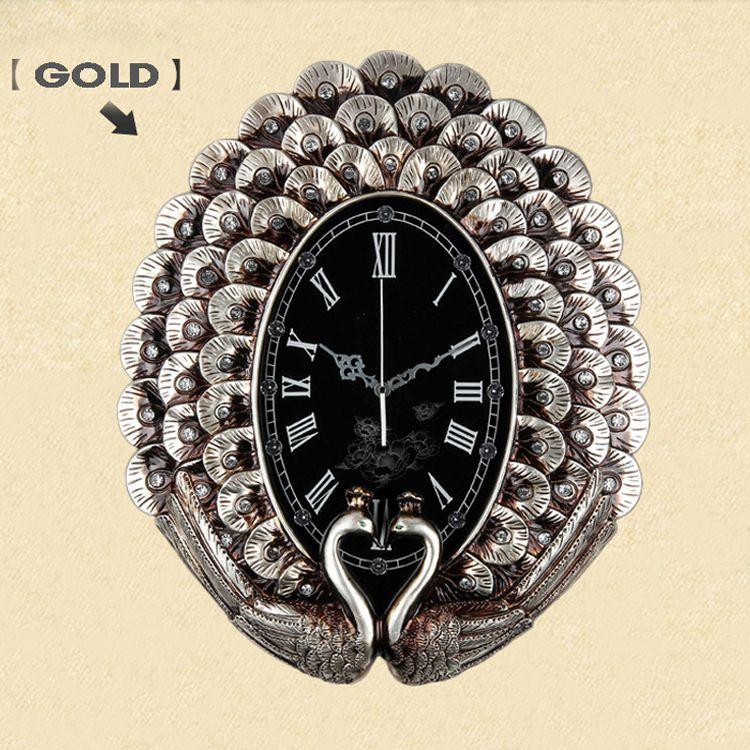 Đồng hồ treo tường tân cổ điển đậm chất nghệ thuật DHD058