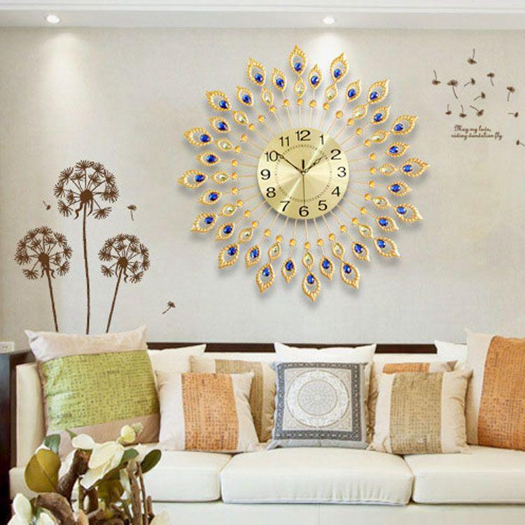 Đồng hồ nghệ thuật treo tường đẹp cho mọi không gian DHD011