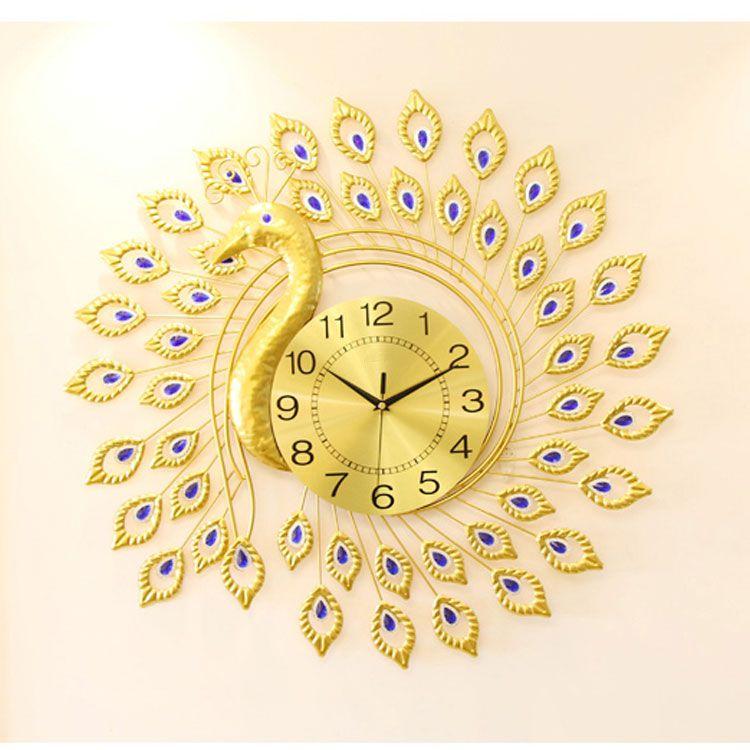 Đồng hồ nghệ thuật trang trí cho nhà xinh DHD019