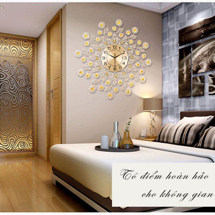 Đồng hồ treo tường nghệ thuật tinh hoa hiện đại DHD014
