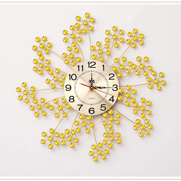 Đồng hồ nghệ thuật độc đáo tỏa sáng DHD017