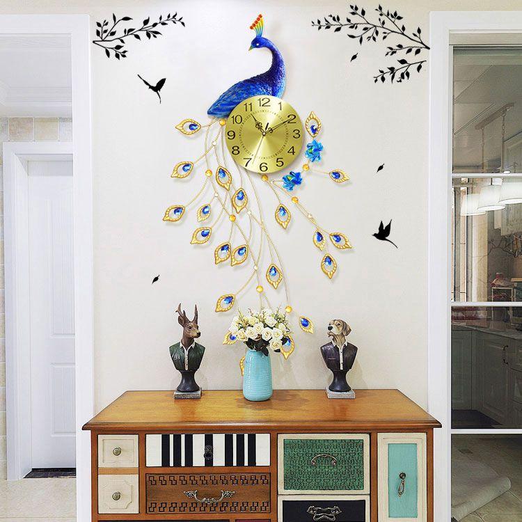 Đồng hồ treo tường đẹp phong cách hiện đại DHD018