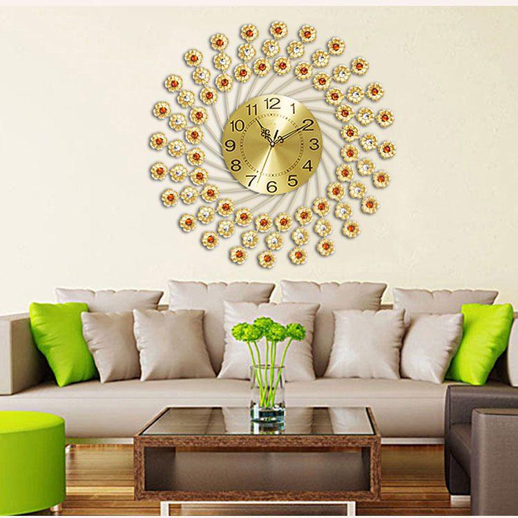 Đồng hồ treo tường hiện đại nghệ thuật tinh xảo DHD020