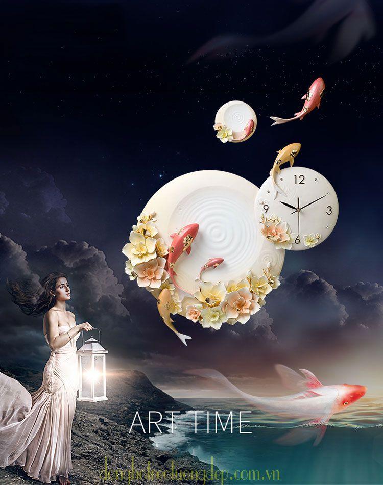 Đồng hồ treo tường Di Linh