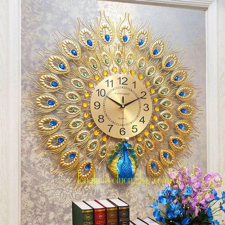 Đồng hồ treo tường phòng khách DHD023