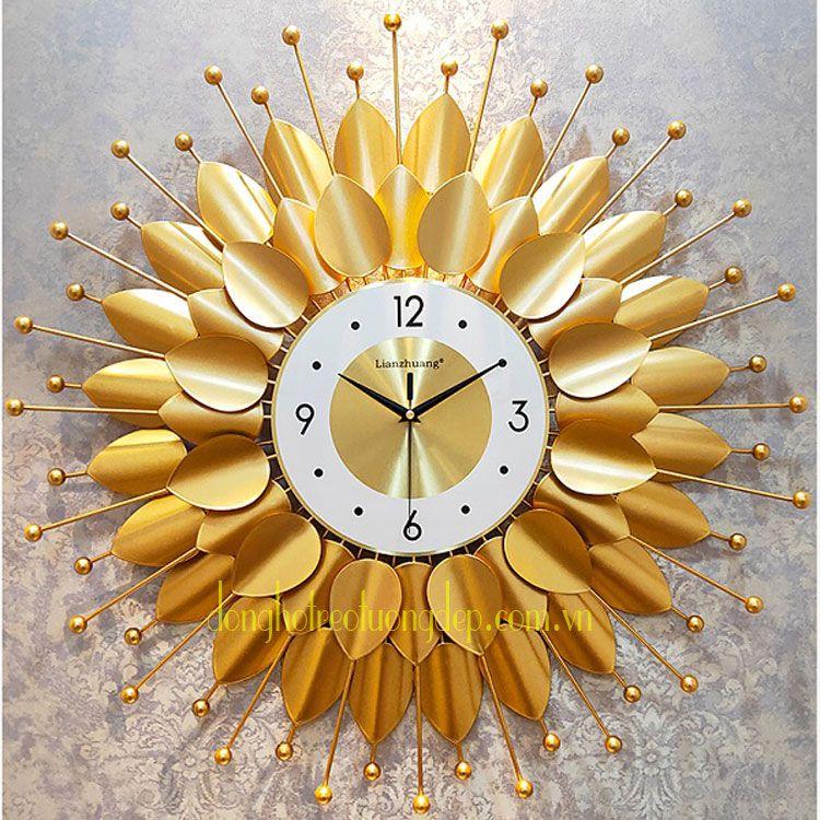 Đồng hồ treo phòng khách sang trọng DHD028
