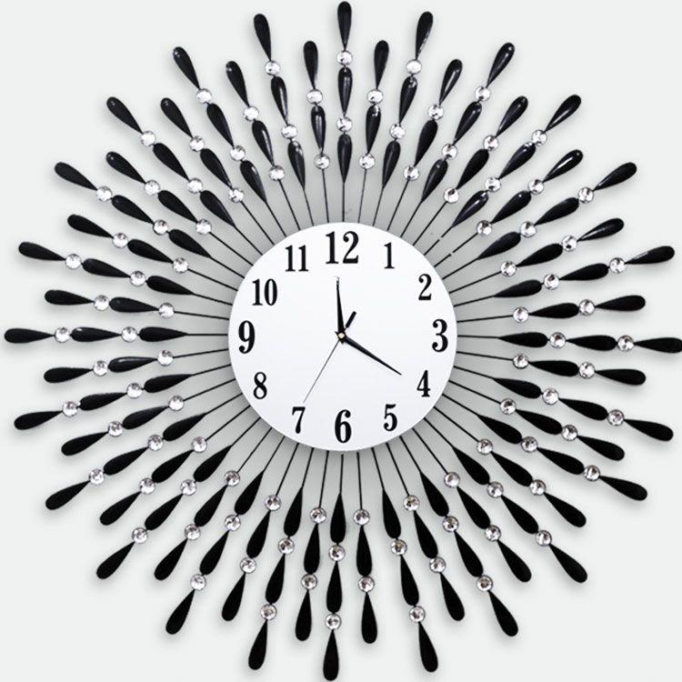 Đồng hồ nghệ thuật đen trắng DHD068