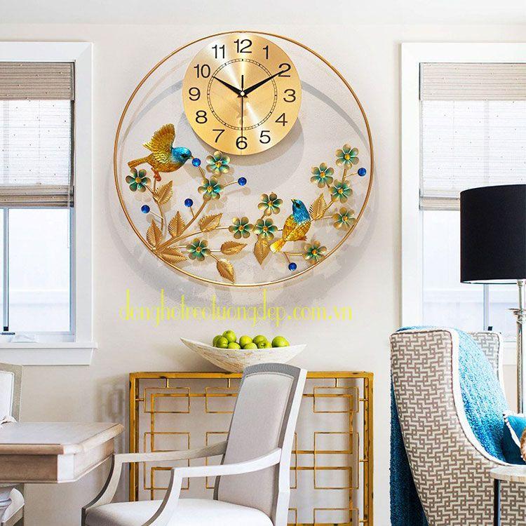 Đồng hồ treo tường tròn DHD050