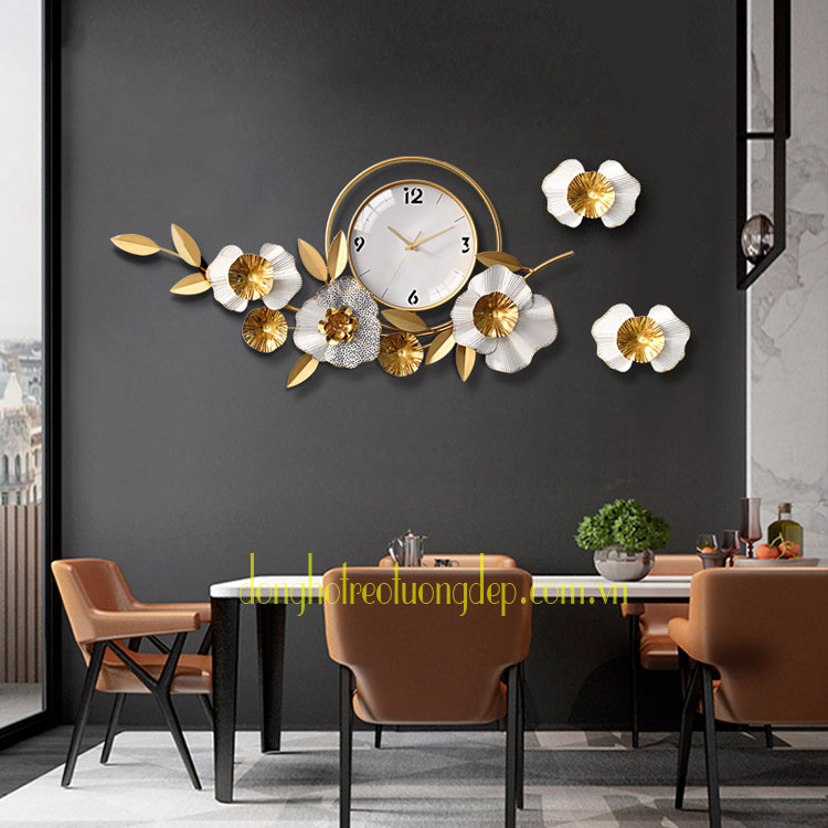 Đồng hồ treo tường trang trí Đẹp DHD092